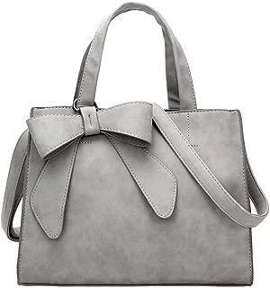 Women's Tote Purses and Handbags Bow Tie Leisure Top-Handle Cross-body Shoulder Bags