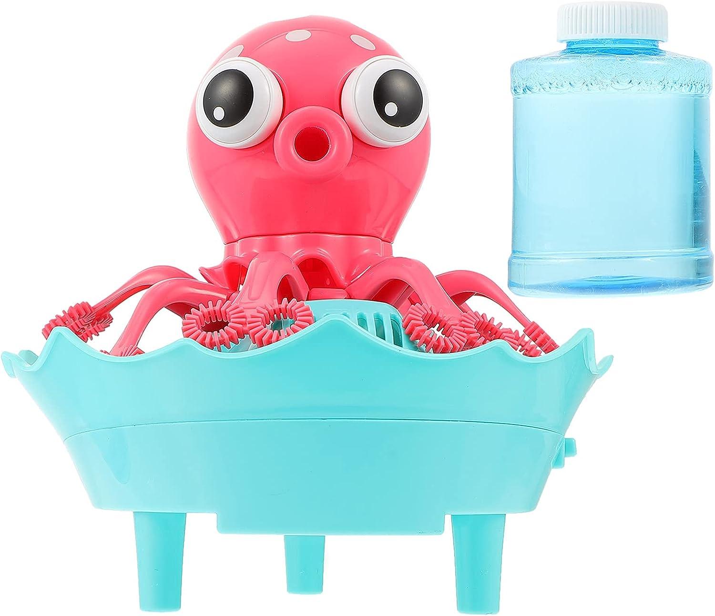 Balacoo Bubble Machine Bubble Blower Octopus Auto Bubbles Maker