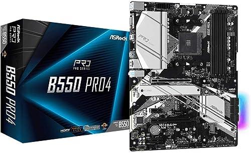 popular ASRock B550 PRO4 sale Supports 3rd Gen AMD AM4 Ryzen/Future AMD Ryzen Processors online Motherboard online