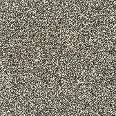 All American Carpet Tiles CAREFREE 23.5 x 23.5 Plush Easy to Install Do It Yourself Peel and Stick Carpet Tile Squares – 9 Tiles Per Carton – 34.52 Square Feet Per Carton (Desert Dawn)