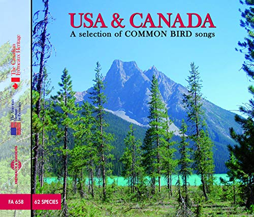 USA and Canada: A Selection Of Common Birds Songs