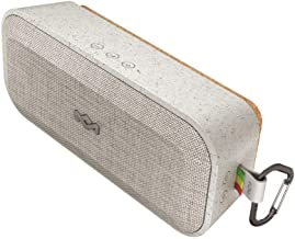 House of Marley No Bounds XL Portable Waterproof Wireless Bluetooth Speaker, Gray
