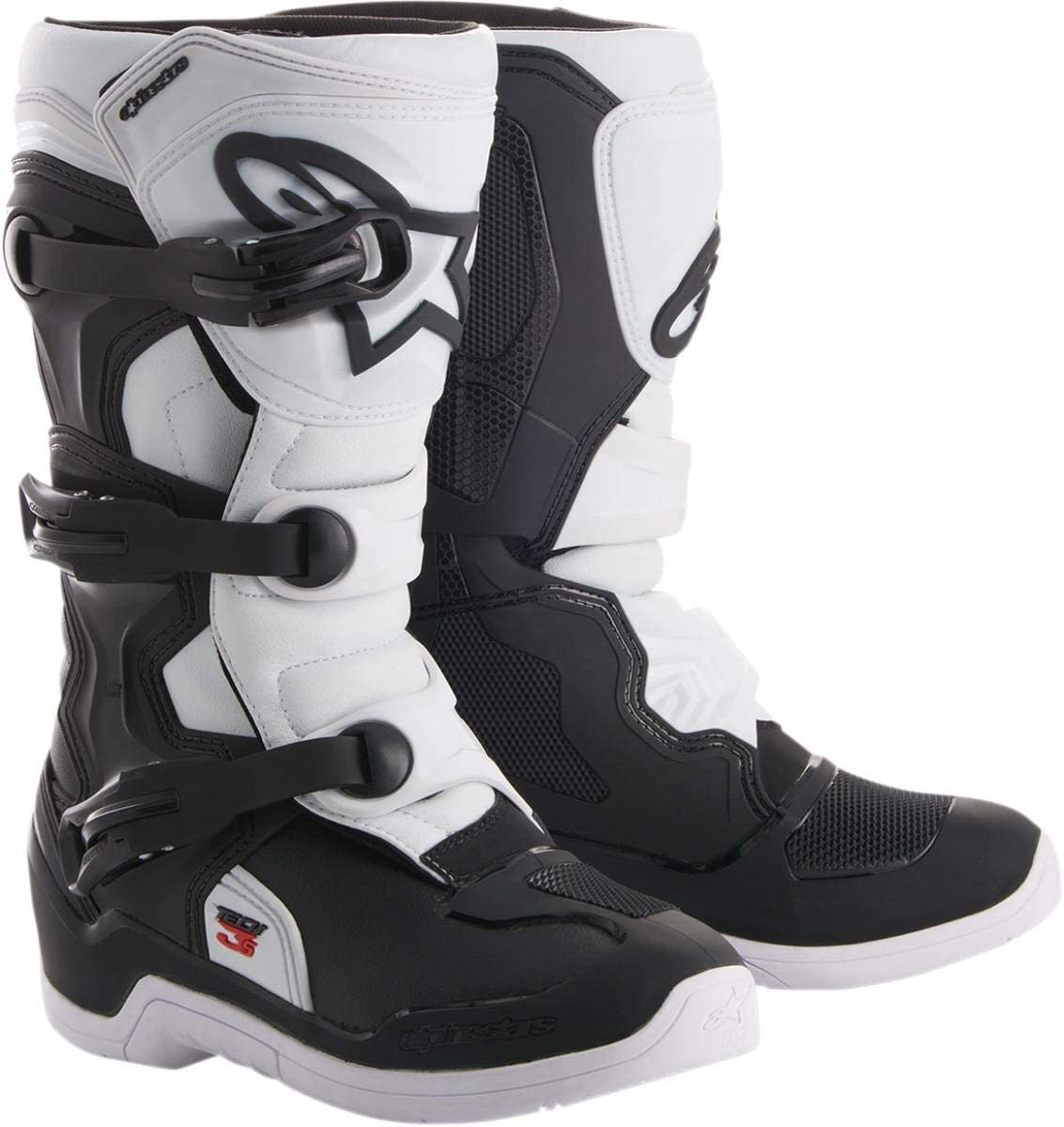 Alpinestars Free shipping on posting reviews Youth Tech 3S Ranking TOP2 White-Y5 Boots-Black
