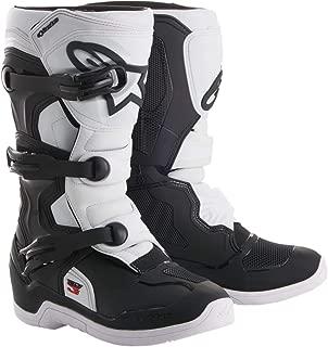 Alpinestars 2019 Youth Tech-3S Boots (7) (Black/White)