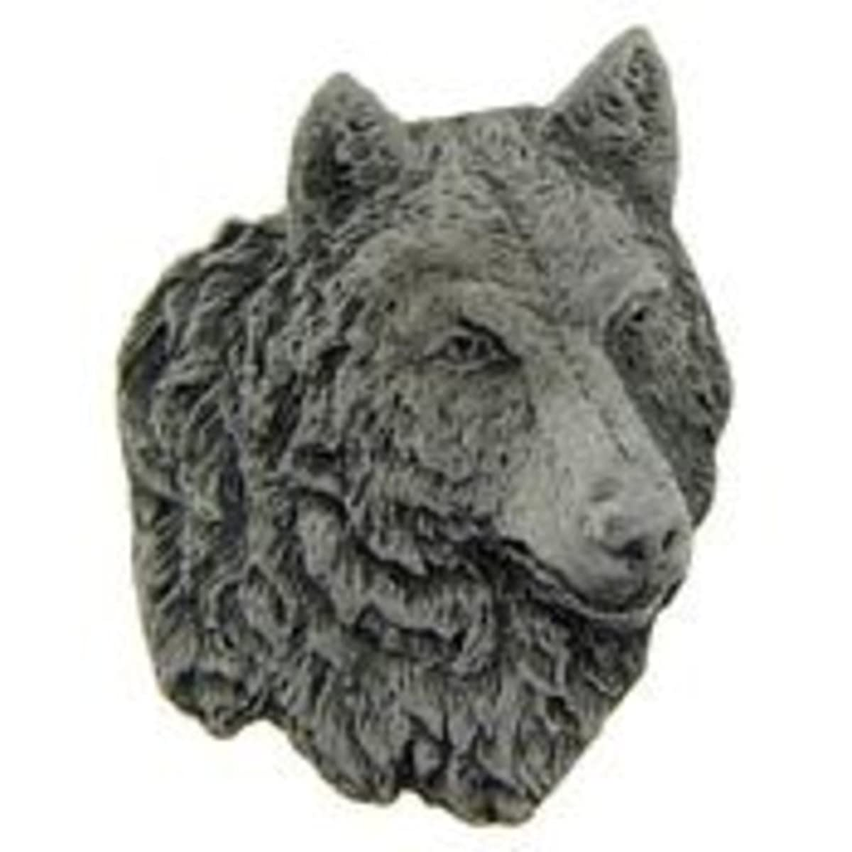 EagleEmblems P00739 Pin-Wolf,Pewter (1'')