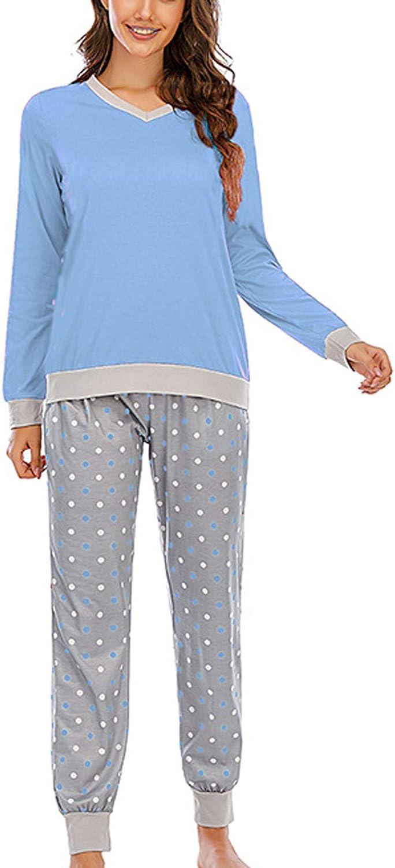 Pajamas Women's Long Sleeve Pajama Tops Dot Set Sale item Dealing full price reduction Piece 2