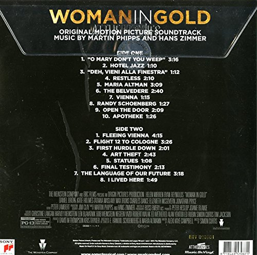 Woman in Gold (Hans Zimmer) [Vinyl LP] - 2