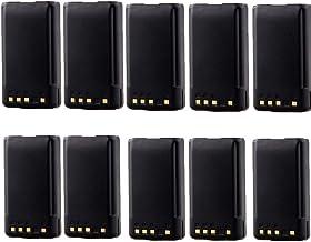 10 Pack 1200mAh Ni-CD KNB-35L KNB-57L Battery for Kenwood TK-2140 TK-3140 TK-2148 TK-3148 TK-2160 TK-3160 TK-2168 TK-3168 TK-2170 TK-3170 TK-2173 TK-3173 TK-2360 TK-3360 NX-220 NX-320