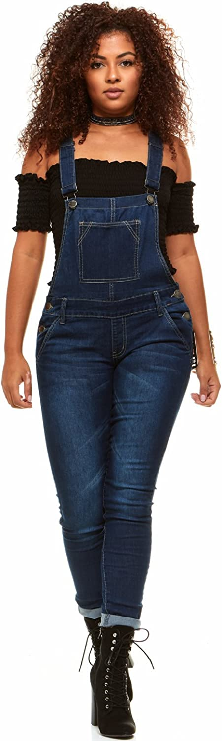 COVER GIRL Overall Jeans Bib 4 years warranty For Women Tulsa Mall
