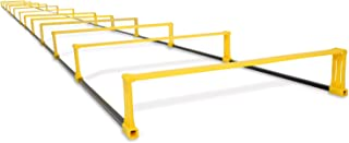 Yes4All Agility Elevation Ladder – 12 Rung Agility Ladder Hurdles/Speed Ladder Hurdles – Nylon Carrying Bag Included