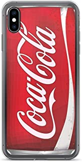 iPhone Xs Max Pure Clear Case Cases Cover coca-cola can