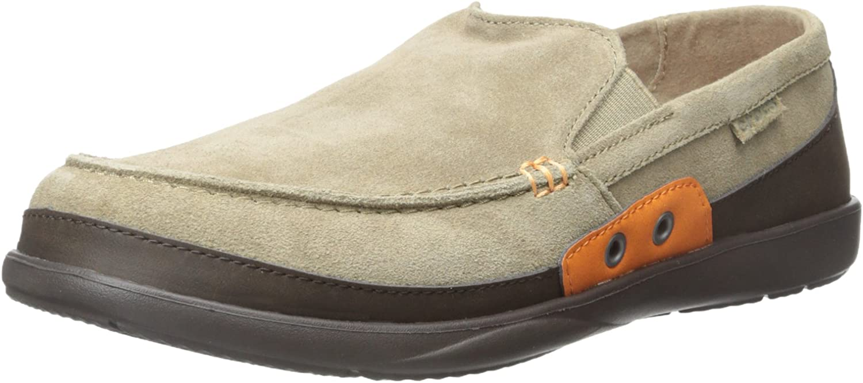 Crocs Men's 14757 Walu Accent Suede Loafer