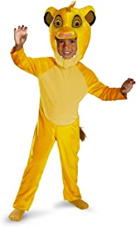Disguise Simba Classic Costume Size: 4-6 Yellow