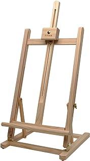 Artina Sydney - Caballete de Pintura de Mesa - Madera de Pino 27 x 27 x 60 cm