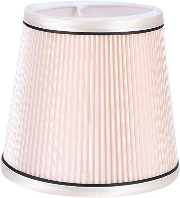 Fdit Abat-Jour Moderne, Tissus Suspendus Pendentif lumière Couverture Abat-Jour Support de Lampe pour Salon Chambre(Rose)