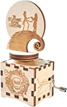 The Nightmare Before Christmas Music Box Hand Crank Musical Box Carved Wood Musical Gifts