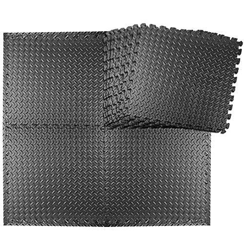 StillCool Alfombrilla Protectora para Rompecabezas, 20 colchonetas de Ejercicio de 30x30 cm, Alfombrillas, Equipos de Fitness,Levantamiento de Pesas, Deportes