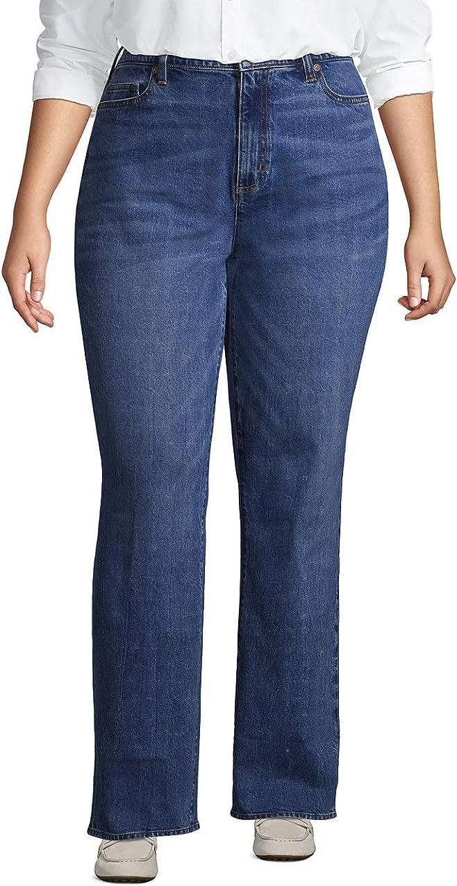 Women's High 5 popular Rise Straight Leg Classic Blue Brand new Fit Jeans