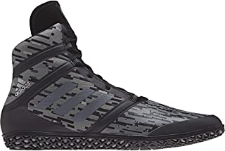 adidas Impact Men's Wrestling Shoes, Black Digital Print, Size 6