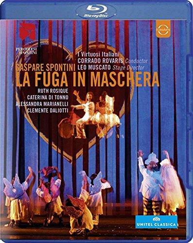 SPONTINI: La Fuga in Maschera (Teatro G.B. Pergolesi, 2013) [Blu-ray]