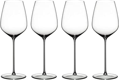 Riedel MAX Collection Classic Crystal Cabernet Red Wine Tall Stem Glass (4 Pack)