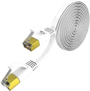 كبل موصّل RJ45 لشبكة الإنترنت المسطحة لشبكة الإنترنت كات 7 من فيست نايت