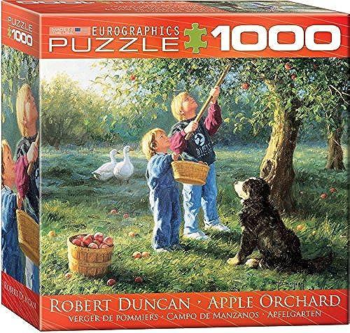 últimos estilos EuroGraphics EuroGraphics EuroGraphics Apple Orchard by Robert Duncan Jigsaw Puzzle (Small Box) (1000-Piece) by EuroGraphics  contador genuino