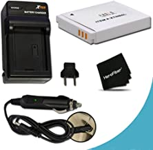 High Capacity Replacement Canon NB-6L / NB-6LH Battery with AC/DC Quick Charger Kit for Canon PowerShot SX610, SX710, SX53...