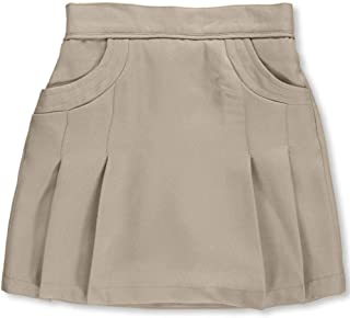 Big Girls' Stitched Pocket Scooter Skirt