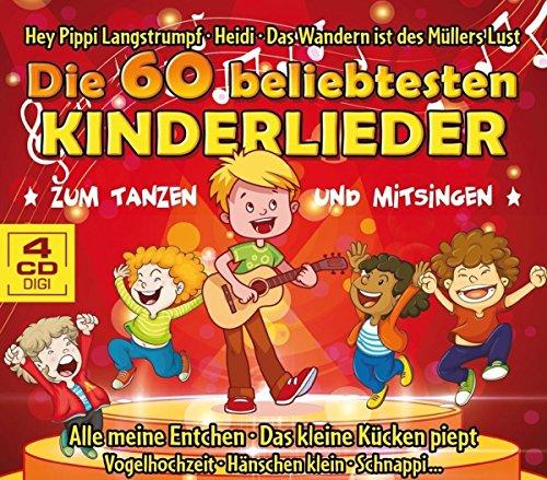 Die 60 beliebtesten Kinderlieder zum Tanzen und Mitsingen