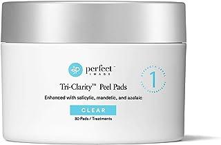 Tri-Clarity Peel Pads 25%, with Salicylic Acid, Mandelic Acid, and Botanical Extracts - Perfect Image