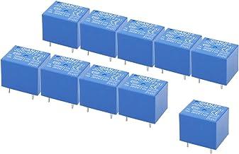 Electrical Buddy JQC 3F 73T DC 5V Coil 5 Pins Mini SPST Power Relay PCB Type 10PCS