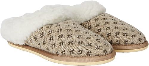 Celtic & & & Co damen British Sheepskin Lined Knitted Clog Slippers  niedrige Preise