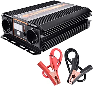 comprar comparacion WZTO 1000W Inversor de Corriente DC 12V a AC 220V-240V Convertidor de Corriente con 1 Puertos USB DC 5V/2.1A y 2 AC Toma E...
