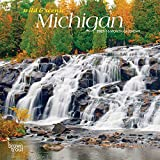 Michigan Wild & Scenic 2021 7 x 7 Inch Monthly Mini Wall Calendar, USA United States of America Midwest State Nature