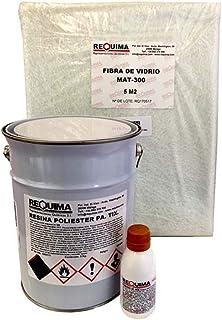 Riegoprofesional Resina de Poliester 5kg para Reparaciones.