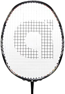Apacs Z-Ziggler Grey Strunged Black String (30 lbs) Badminton Racquet - with Free Full Cover & Grip