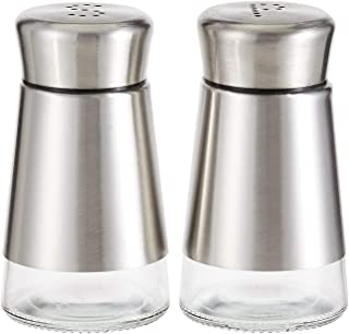 Harmony 2724623293141 90 ml Salt And Pepper Shaker Set - 2 Pieces (Silver)