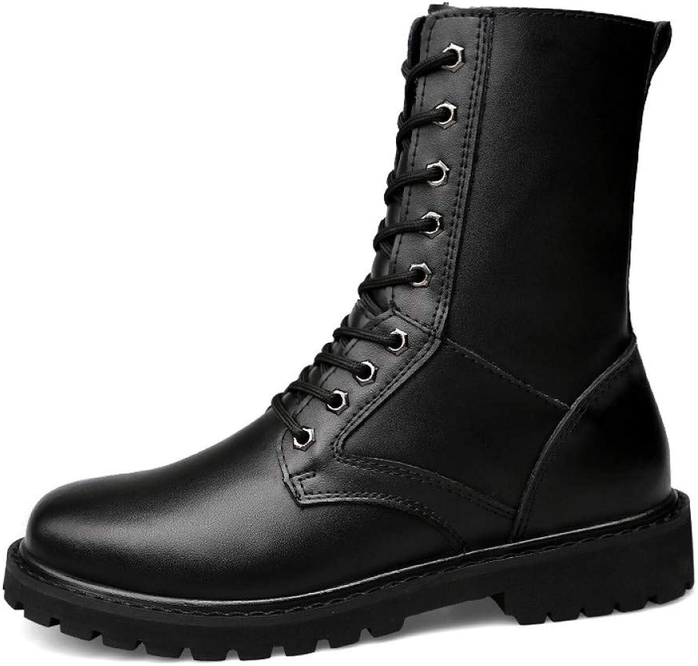 FHCGMX Winter Snow Snow Snow Boots Warm Casual Genuine Leather skor Manliga Stövlar För Män Vuxna skor Mens Walking Footwear  förstklassig kvalitet