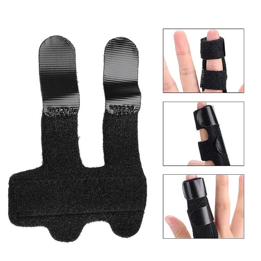 たっぷり戦術船員フィンガー剛性、変形性関節症、捻挫指の関節の痛みを軽減するためのばね指スプリント、指拡張添え木指ブレース/指矯正ブレース/ばね指サポーター