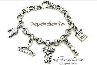 """Pulsera""""DEPENDIENTA II"""" (Temática Profesiones)"""