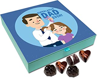 Chocholik Fathers Day Gift Box - I Have Super Dad Chocolate Box - 9pc