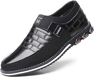Chaussures Mocassins Homme Cuir en Bateau Conduite Daim Loafers Casual Ville Décontractées Flâneurs Bureau Confort