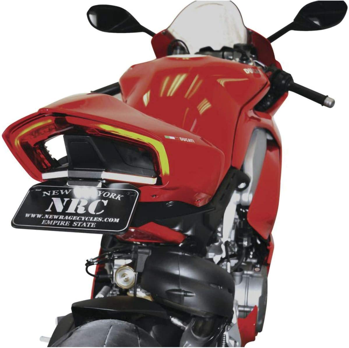 Max 65% OFF Ducati Panigale V4 Fender Eliminator New - Special Campaign Cycles Rage