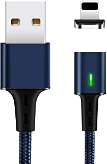TEGAL Magnetic Data Charging Cable, i-Product USB Fast Charging and Data Sync Smart Phone Charger, 3.3 feet Nylon Braided ...