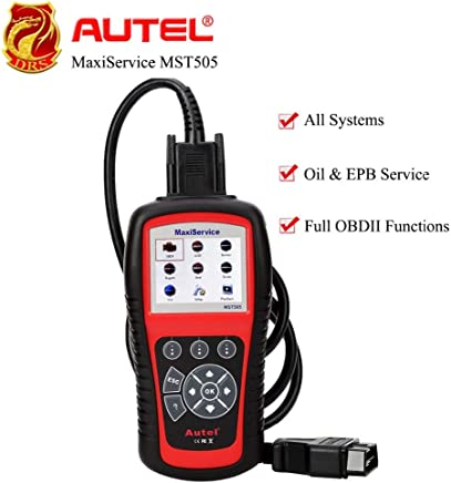 Autel MaxiService MST505 OBDII Scanner for VW/Audi/Seat/Skoda All Systems Diagnoses Tool Oil & EPB Service Full OBDII Function : United States