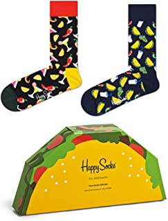 Happy Socks 2-Pack Taco Gift Set - algodón