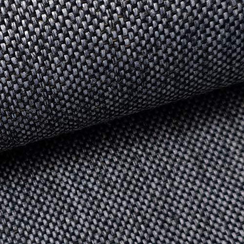 NOVELY® LARISO   1 lfm   Polsterstoff   Meterware   Möbelstoff   Webstoff   Struktur-Stoff   Mélange   natürlicher Look in 20 Farben   98 Graphit