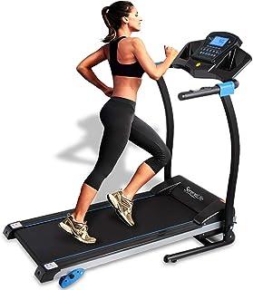 تردمیل تاشو هوشمند دیجیتال SereneLife - دستگاه تناسب اندام ورزشی تاشو برقی ، سطح بزرگ در حال اجرا ، 3 تنظیمات شیب دار ، 16 برنامه از پیش تعیین شده ، برنامه ورزشی قابل بارگیری برای اجرا و پیاده روی