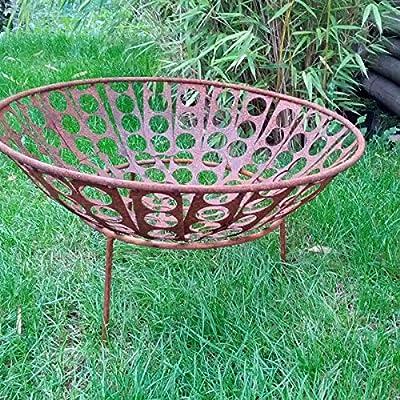 Garteninspiration Fire Bowl with Stand Patina 50 cm Diameter from Zen Man